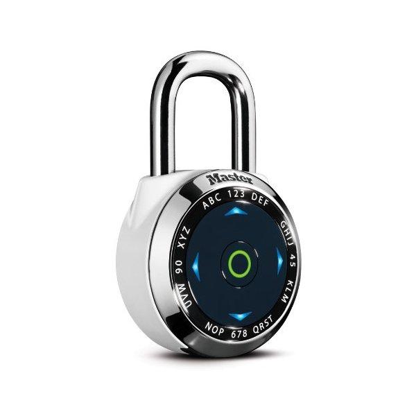 Master Lock Dialspeed 1500edbx Electronic Speed Dial Black Combination Lock