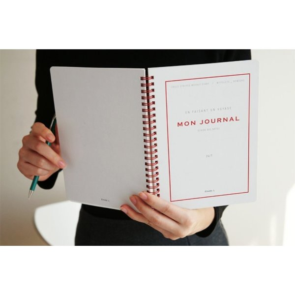 invite.L Mon Journal 2nd Edition - Gray