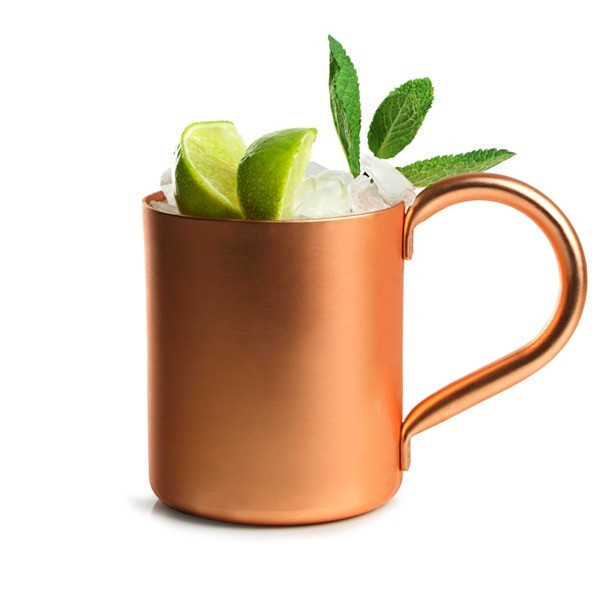 Copper Plated Moscow Mule Mugs, 16 oz, Set of 2