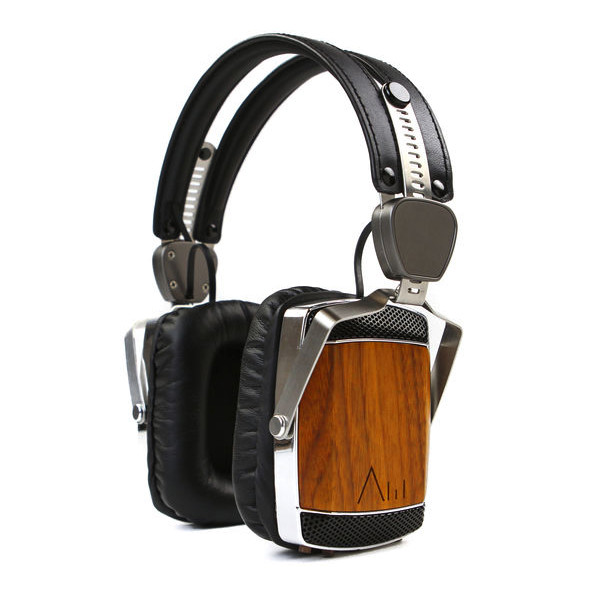 51st Studios Unplugged Wireless Wood and Stainless Steel Headphones