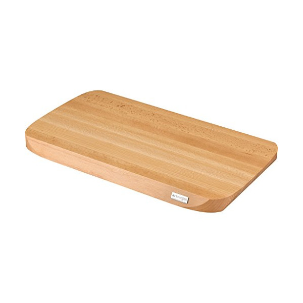 Artelegno Solid Beech Wood Medium Cutting Board, Luxurious Italian Siena Collection by Master Craftsmen, Ecofriendly, Natural Finish