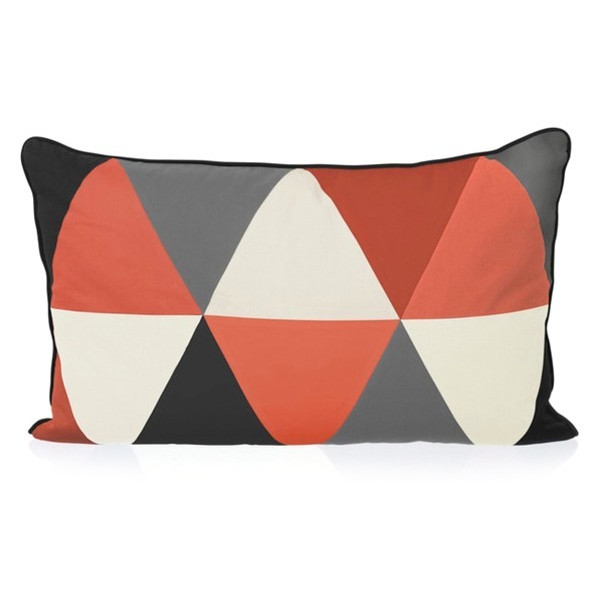 Ferm Living Columbine Cushion in Coral