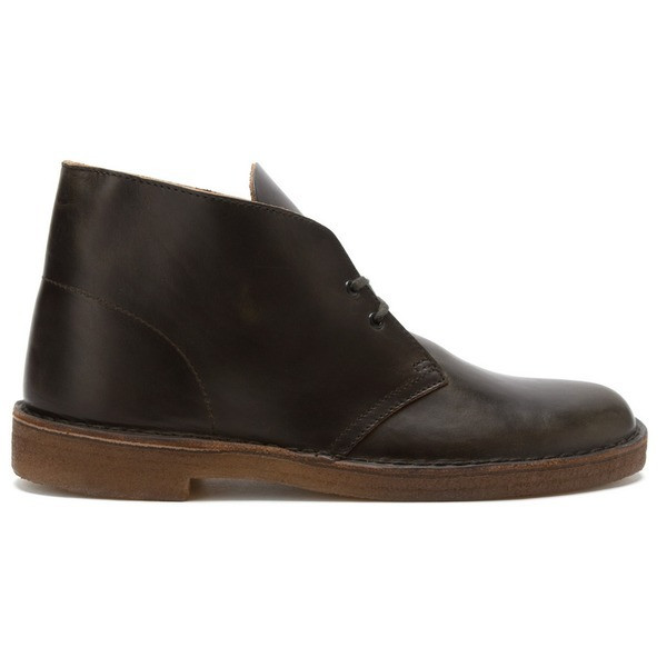 Clarks Men's Desert Boot, Green Horween Leather