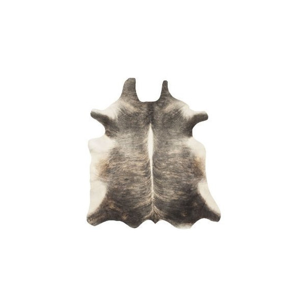 Grey Brindle Cowhide