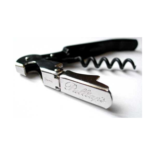 Pulltap's Double-Hinged Waiters Corkscrew. Original - Made in Spain, with Pulltap's logo.