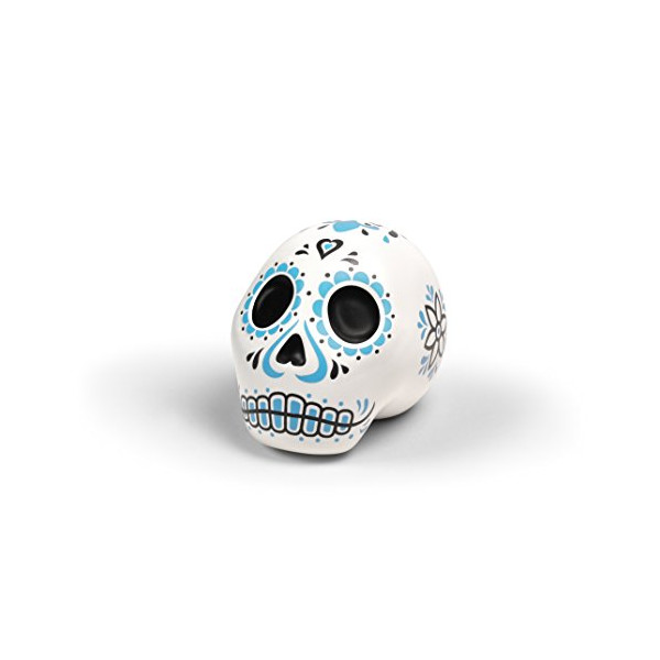 Fred and Friends SWEET SPIRITS Skull Sugar Shaker, White