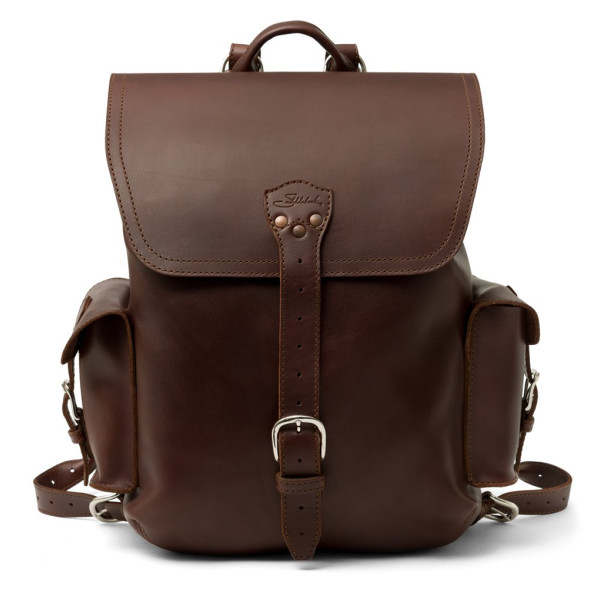 Saddleback Leather Large, Simple Backpack, Chestnut