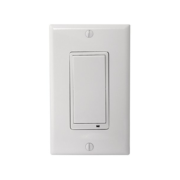 Linear WS15Z-1 Z-Wave Wall Switch, White