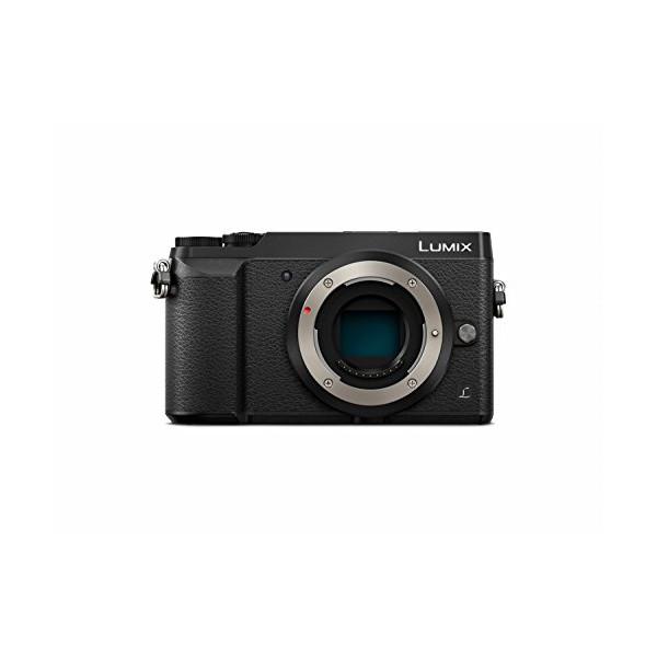 Panasonic LUMIX DMC-GX85KBODY 4K Mirrorless Interchangeable Lens Camera, Body Only, 16 Megapixel (Black)