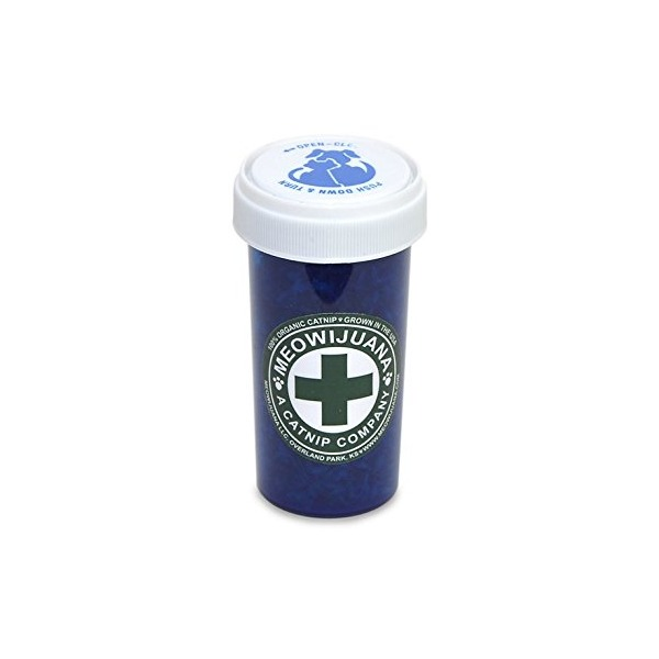 Meowijuana - Purrple Passion Catnip Leaf and Flake (Small Bottle)