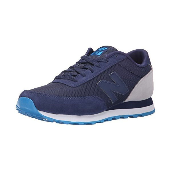 New Balance Men's ML501 Classic Running Shoe, Navy/Cool Grey, 7 D US