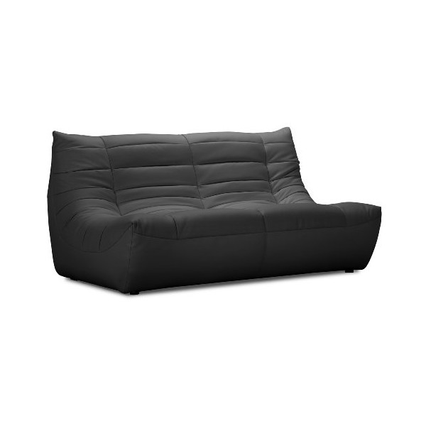 ZUO Carnival Loveseat, Black