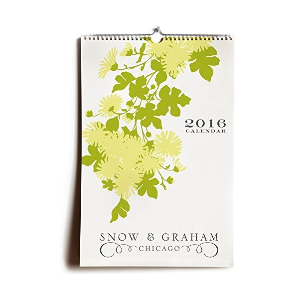Snow & Graham 2016 Wall Calendar