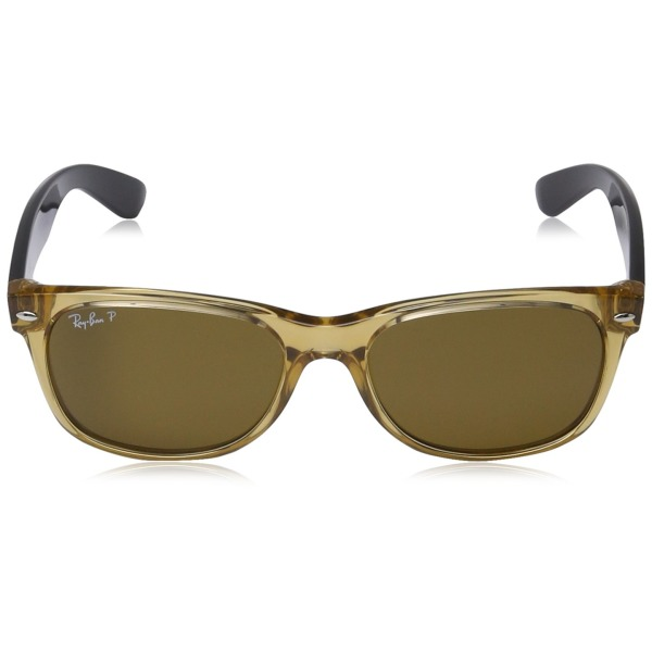 Ray-Ban Wayfarer Honey Lens, Crystal Brown Frame