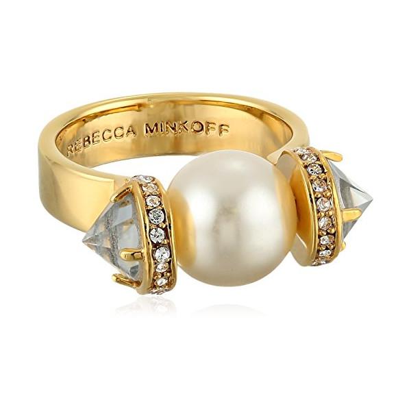 Rebecca Minkoff Pearl Ring, Size 7