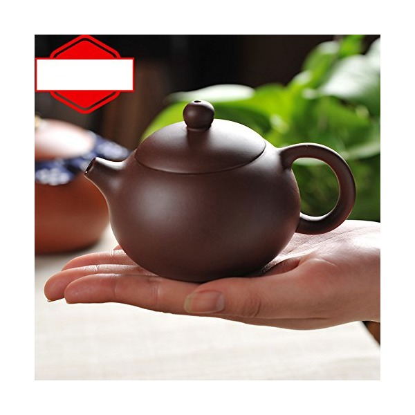 XDOBO Chinese Handmade Portable Travel Mini Purple Clay Teapot, Undressed Ore Archaize Tea Pot - 200ml