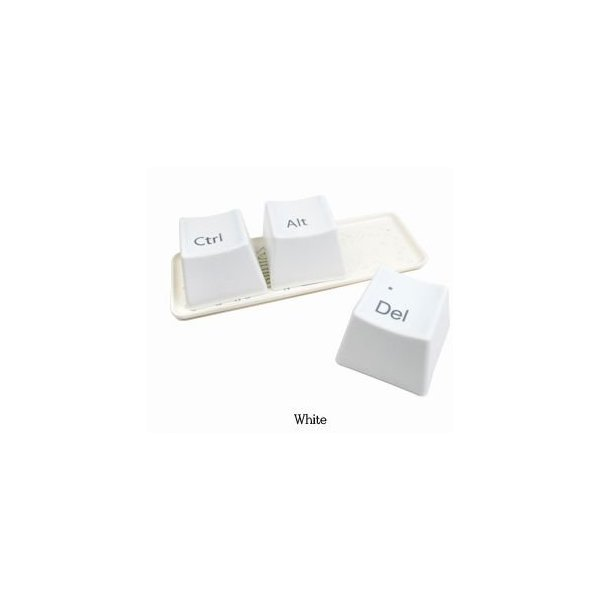 Ctrl ALT DEL Keyboard Coffee Tea Mug Cup Container 1 Set/3 Pcs 2 Color