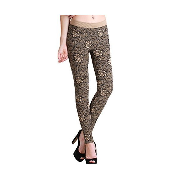 Nikibiki Long Leggings One Size NB5424 (One size, Stone)