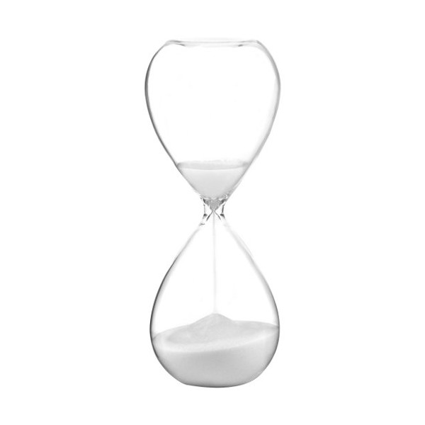 G.W. Schleidt Glass Sand 30 Minute Timer, 8-Inch