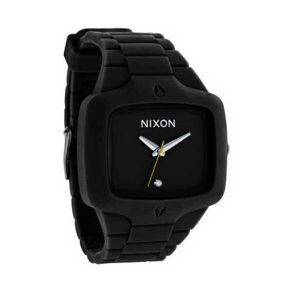 Nixon The Rubber Player Men's Watch - Black