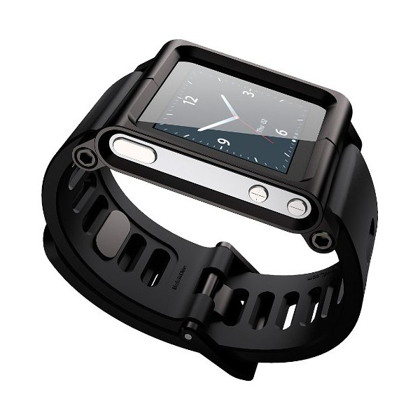LunaTik Watch Wrist Strap for iPod Nano 6G - Black