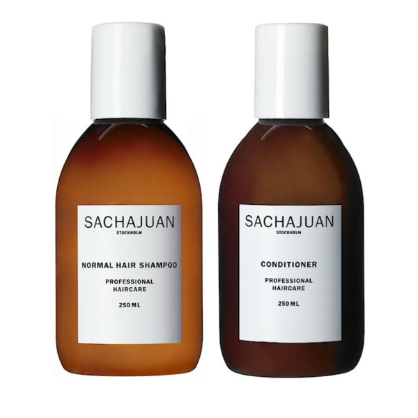 Sachajuan Normal Hair Shampoo + Conditioner, 8.4 Oz