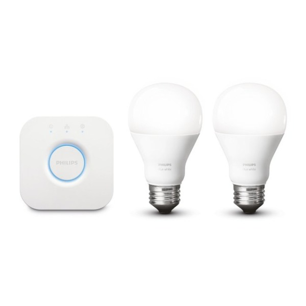 Philips Hue White Starter A19 Kit, 2nd Generation