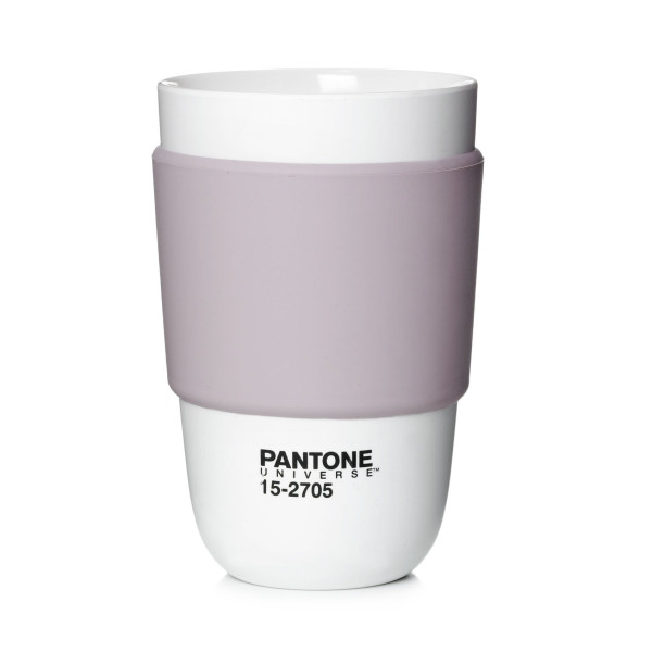 Pantone Universe Classic Cup with Silicone Band, Keepsake Lilac