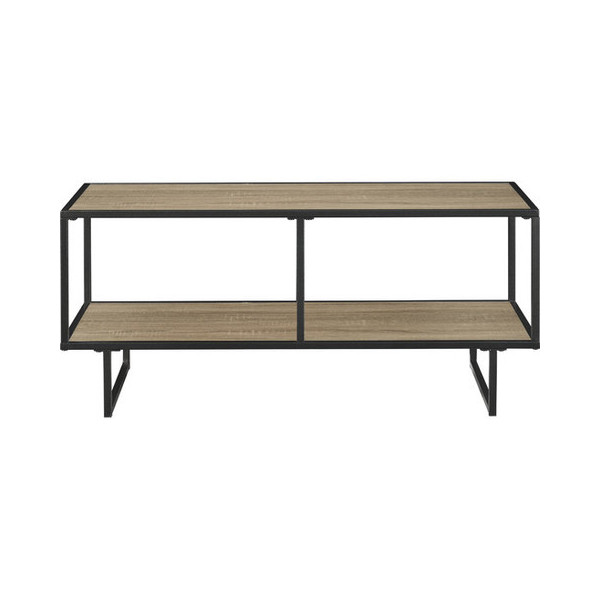 Ameriwood Industries TV Stand/Coffee Table, Gunmetal Gray