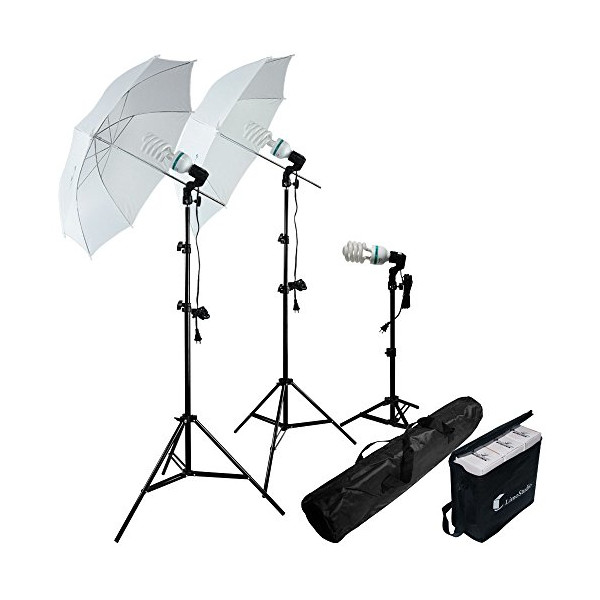 LimoStudio-Photography Photo Portrait Studio 600W Day Light Umbrella Continuous Lighting Kit