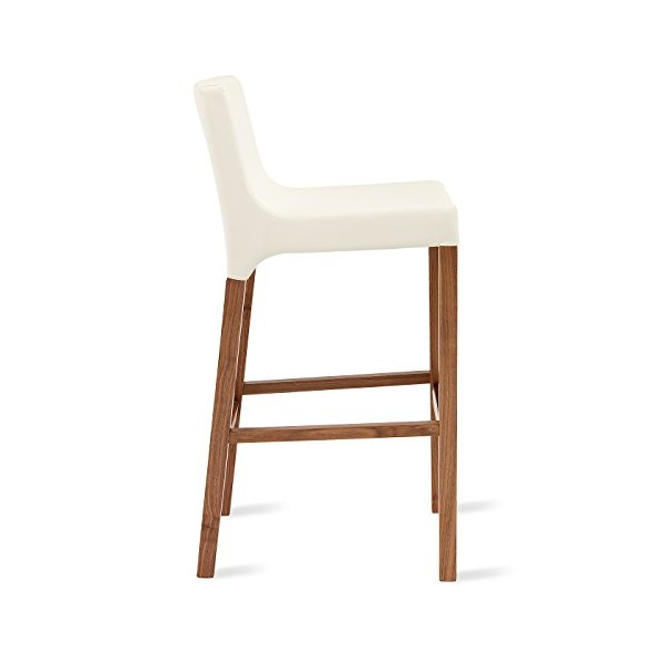 Blu Dot Knicker Barstool, White