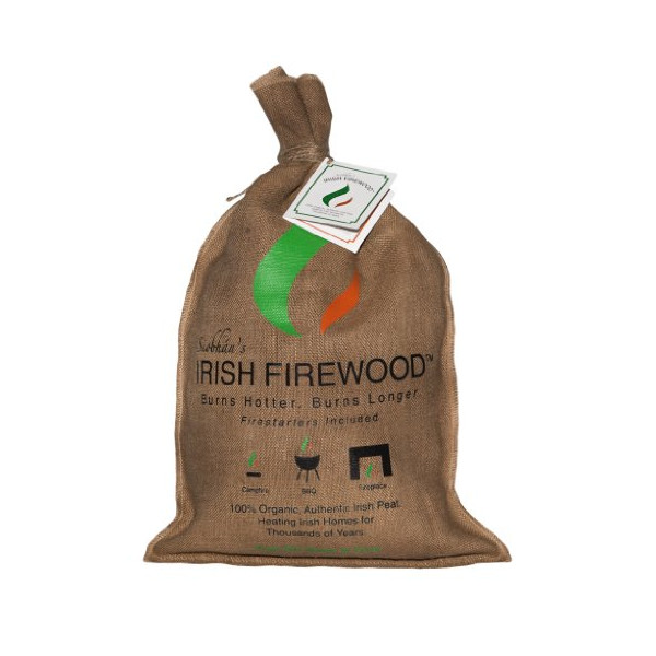 Siobhan's Irish Firewood (Irish Turf with Fire Starters)