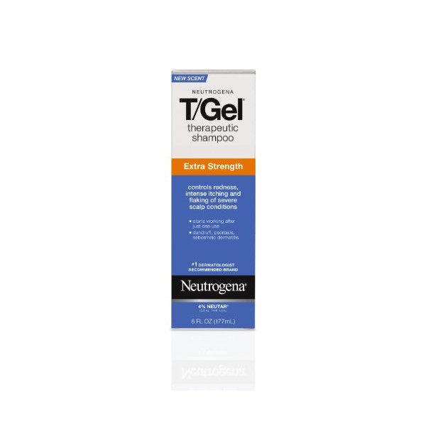 Neutrogena T/Gel Therapeutic Shampoo, Extra Strength, 6 Ounce