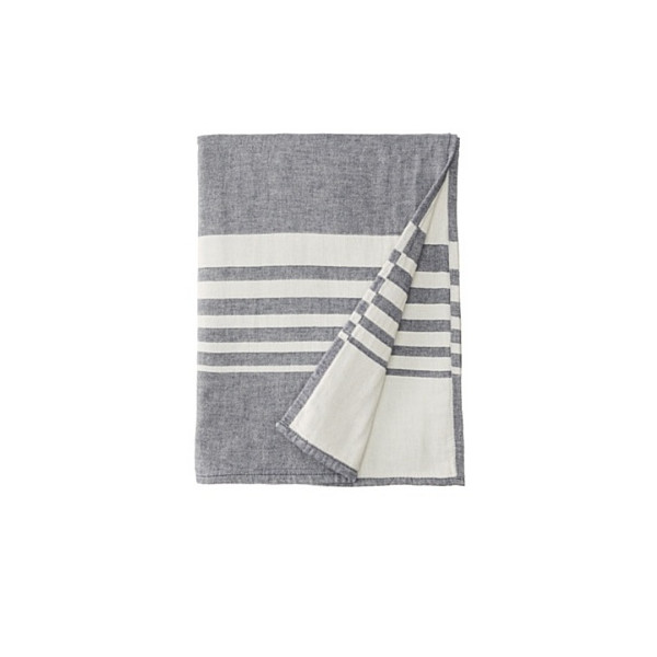Nine Space Turkish Cotton Bali Kitchen Towel, Indigo