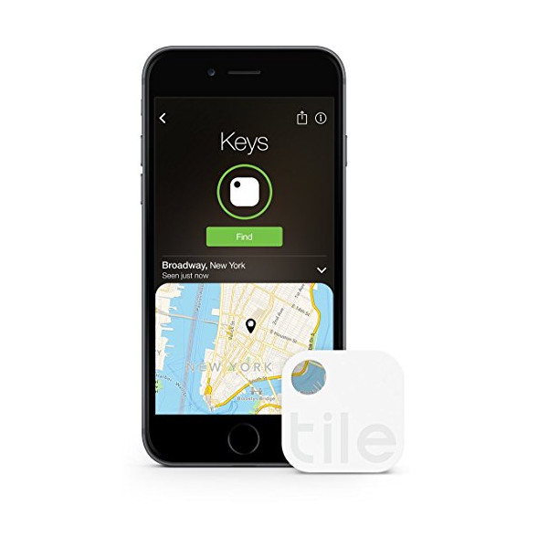 Tile (Gen 2) - Phone Finder. Key Finder. Item Finder - 4 Pack - Save 30%
