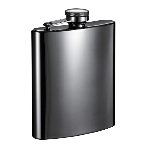 Visol Gondor Gun Metal 8oz Hip Flask