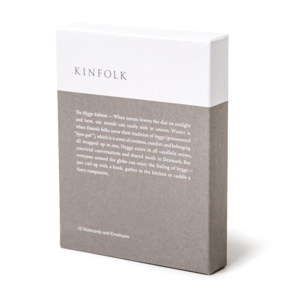 Kinfolk Notecards, The Hygge Edition