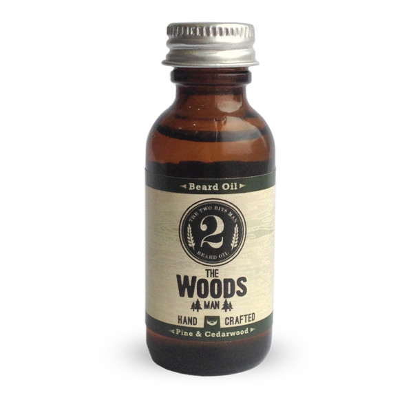 The Woods Man Beard Oil, Pine & Cedarwood
