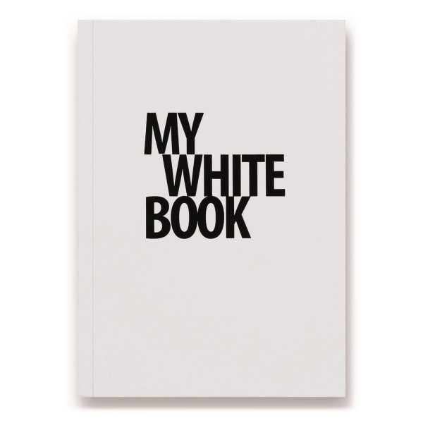 My White Book, Blank Page Notebook