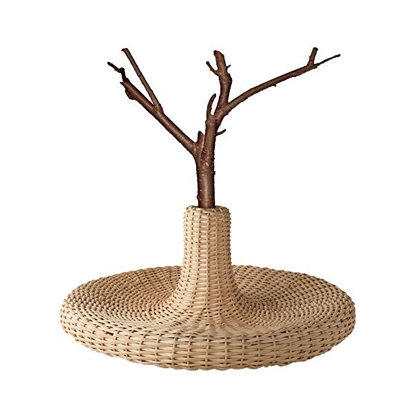 "Alessi ""Vime"" Centerpiece in Rattan, Wood"
