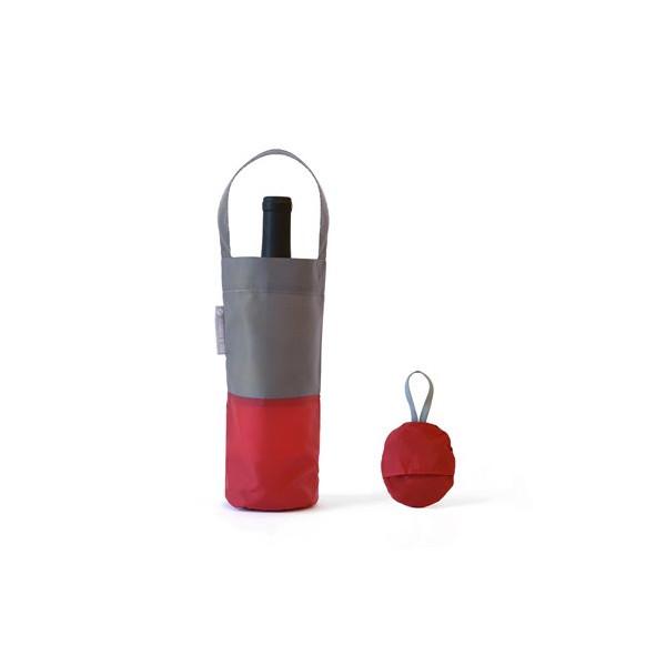 flip & tumble Wine Bag, Red