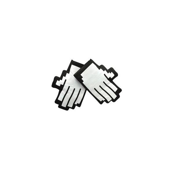 Retro Pointer Finger Pixel Mouse Cursor Icon Oven Mitt Set 2 Stove Mitts New Mit