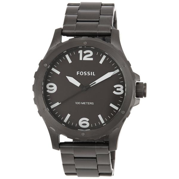Fossil Men's JR1457 Nate Analog Display Analog Quartz Grey Watch
