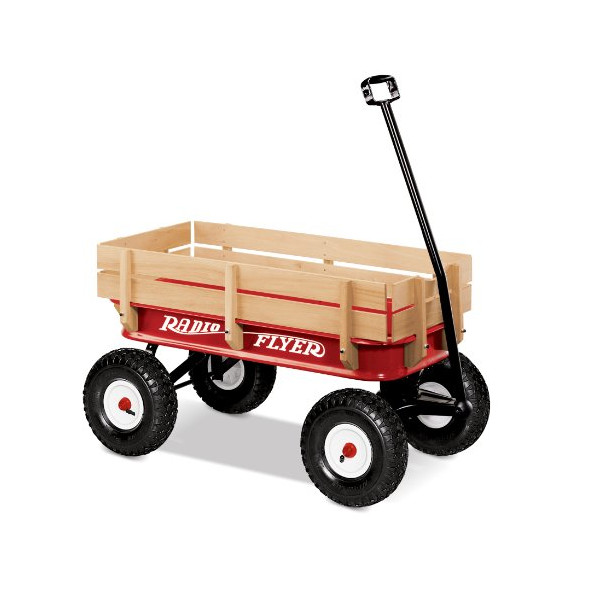 Radio Flyer 32 All-Terrain Steel and Wood Wagon