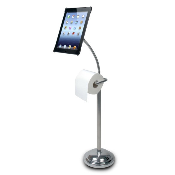 Digital Pedestal Stand for iPad with Roll Holder