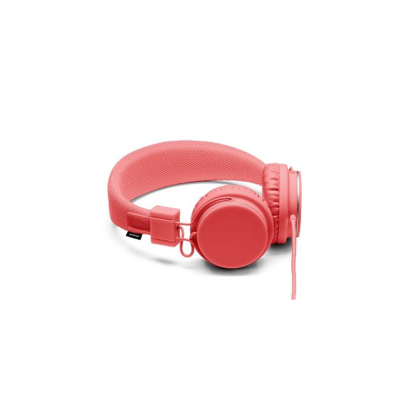 URBANEARS 04090704 Plattan Over Ear Headphones With Microphone - Coral