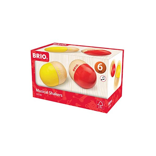 BRIO Muscial Shakers Baby Toy (Set of 2)