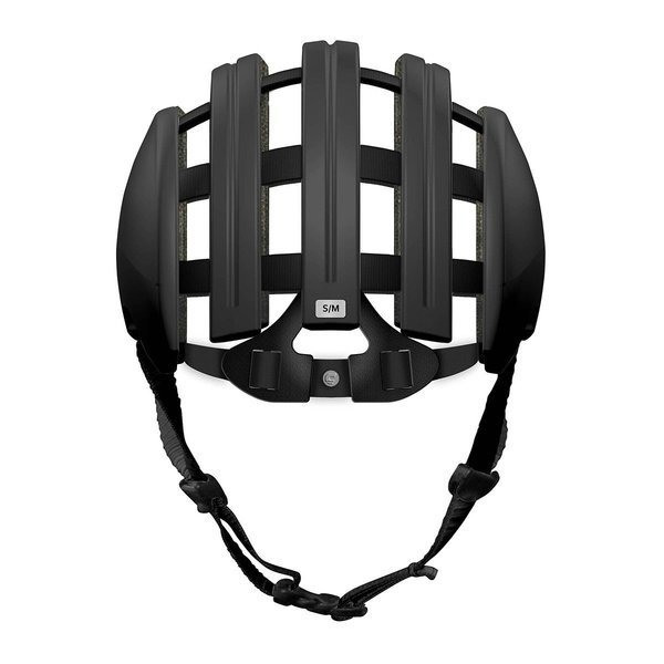 2014 Carrera Basic Foldable Helmet Shiny Black Small / Medium 55-58cm