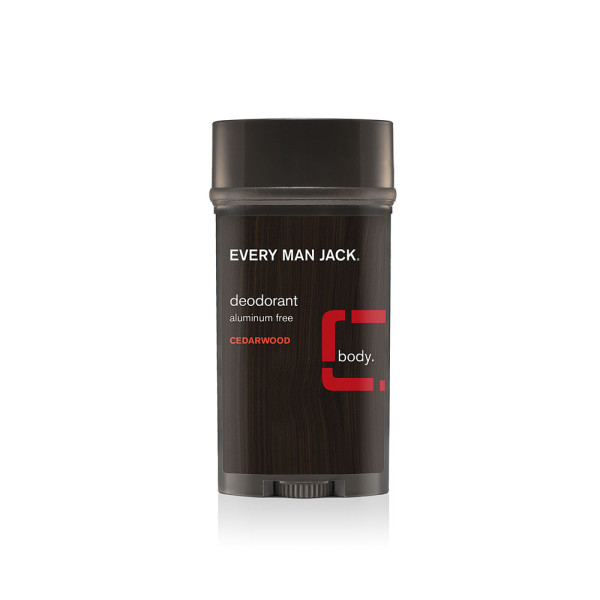 Every Man Jack - Deodorant, Aluminum-Free Cedarwood, 3 oz.