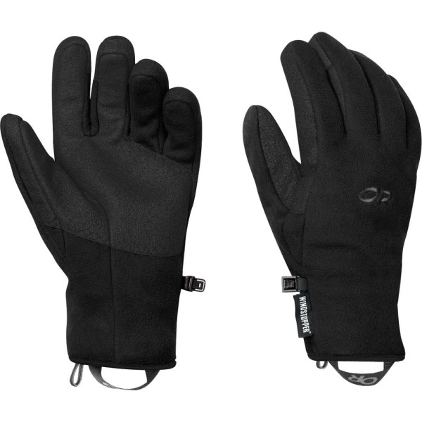 Outdoor Research Men's Gripper Gloves, Black
